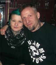 Thüringer unter sich. Stephi & meine verschriebene Wenigkeit @ U5, Generation X Party